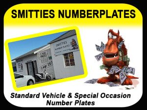 Vehicle Number Plates in George