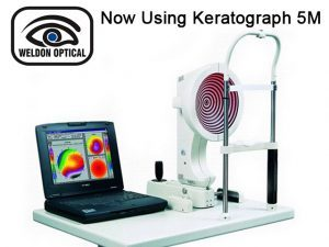 Optometrist in George Now Using Keratograph 5M
