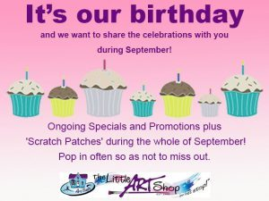 The Little Art Shop Birthday Specials