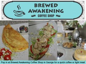 Brewed Awakening Coffee Shop in George