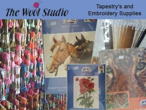 Tapestries and Embroidery Cotton in George