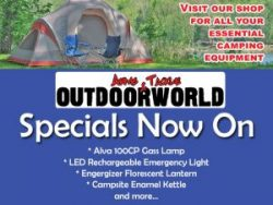 Specials on Camping Equipment in Georg