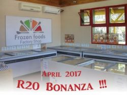 R20 Bonanza at Frozen Foods Factory Shop in George