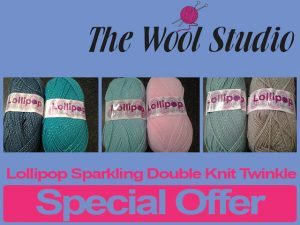 Special on Lollipop Sparkling Wool in George