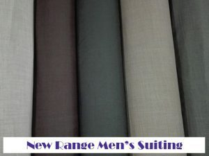 New Men's Suiting and Vinyl Range at Fabric World in George