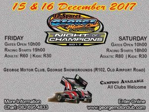 George Motor Club December Racing