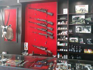 Firearms in George