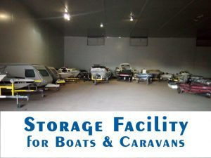 Storage Facility for Boats and Caravans in George