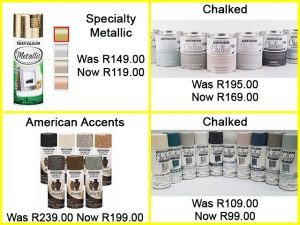 Sale on Rust-Oluim Products in George