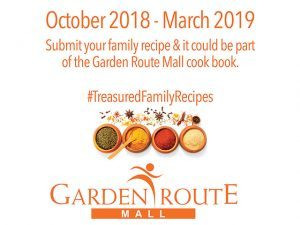 Be Part of the Garden Route Mall Cook Book
