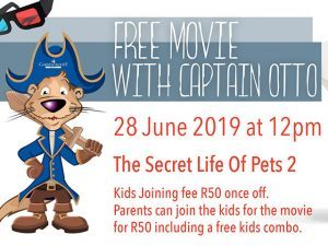 Free Movie with Captain Otto in George
