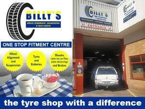 Spring Special at Billy's Tyre Centre in George