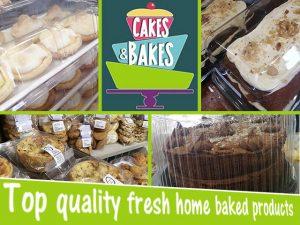 Freshly Baked Cakes in George